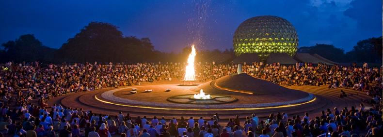 Utopiestadt Auroville – ein Experiment in Indien das gelingt?