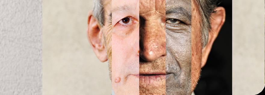 Das Bild zeigt das Gesicht eines älteren Mannes