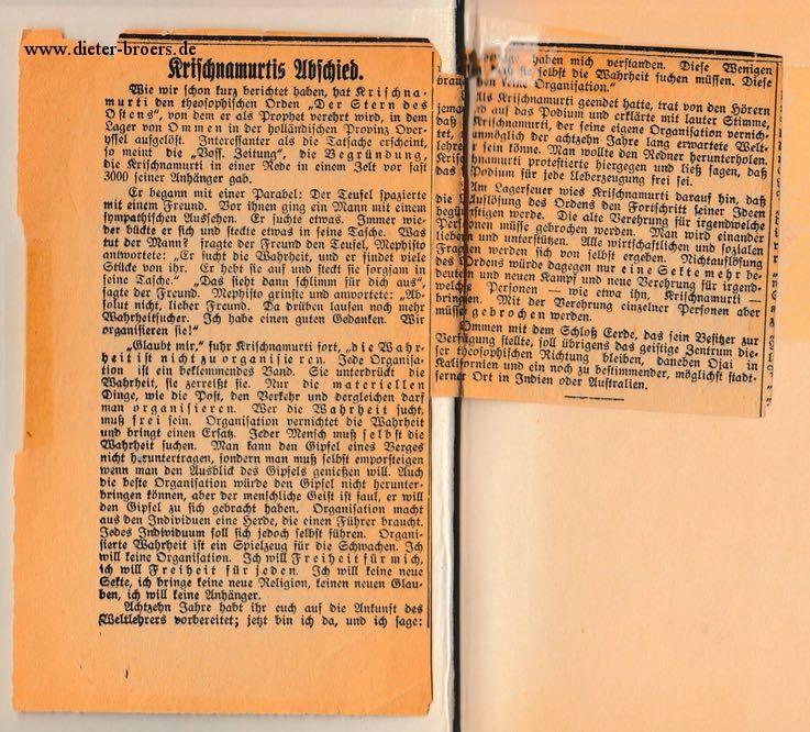 Zeitungsartikel-Order_of_the_Star-1929_Jiddu-Krishnamurti-dieter-borers-de