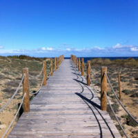 Casa Horizon - Steg am Strand