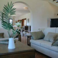 Casa Horizon - Wohnzimmer mit TV