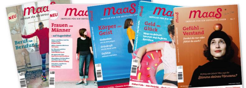 Das maaS-Magazin: Ein Highlight in der Welt der Printmedien!