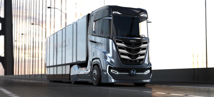 Nikola stellt Wasserstoff-LKW mit 1200 km Reichweite vor
